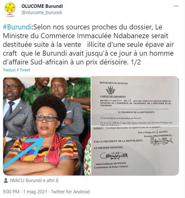 burundi,-l'aereo-venduto-sottocosto-costa-caro-alla-ministra