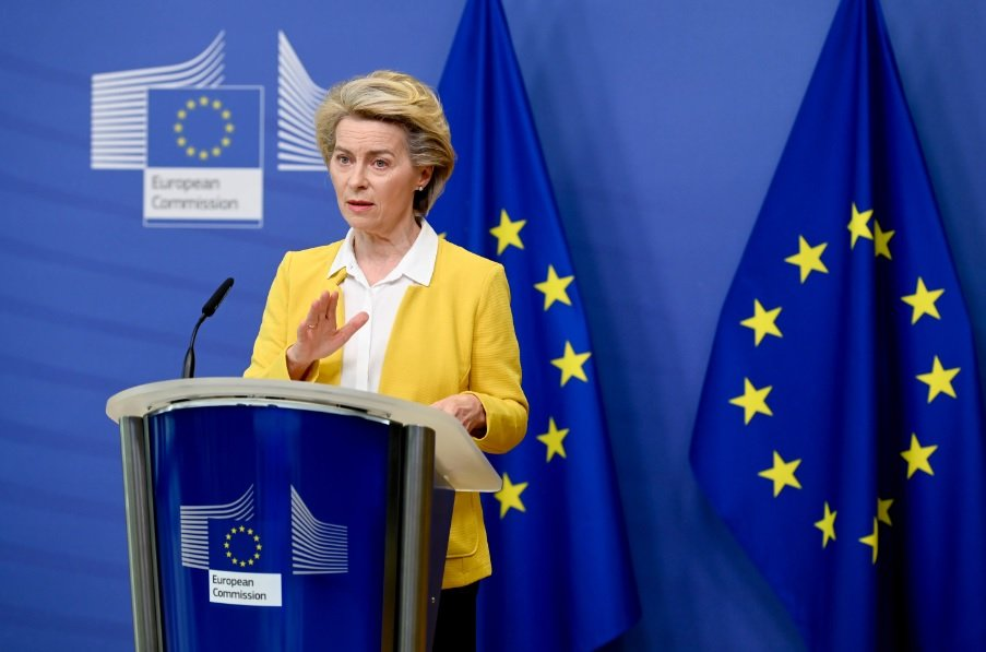 """von-der-leyen:-""""la-crescita-economica-in-europa-ha-superato-america-e-cina"""""""
